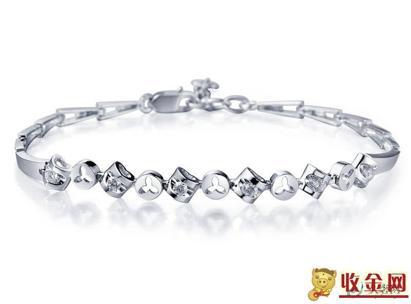 铂金钻石手链回收值多少钱