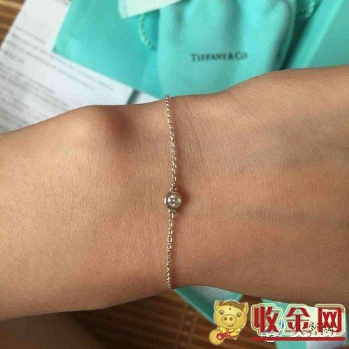 蒂芙尼tiffany钻石手链回收