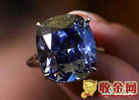 蓝宝石于蓝钻石谁的回收价格要高?
