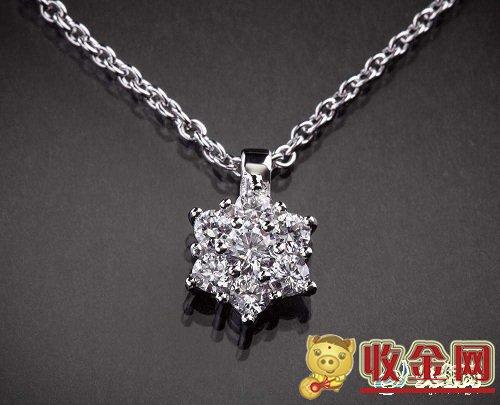 女人最爱的钻石项链回收价格如何?