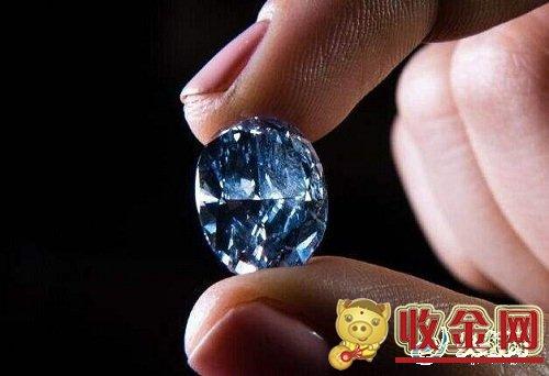 一克拉蓝钻